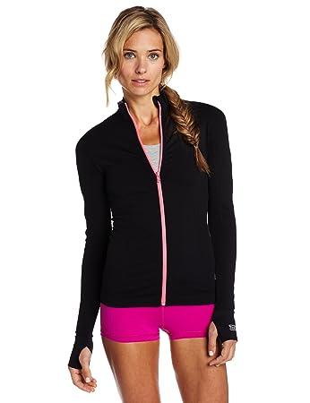 Amazon.com: Zensah – Chaqueta de running para mujer: Sports ...