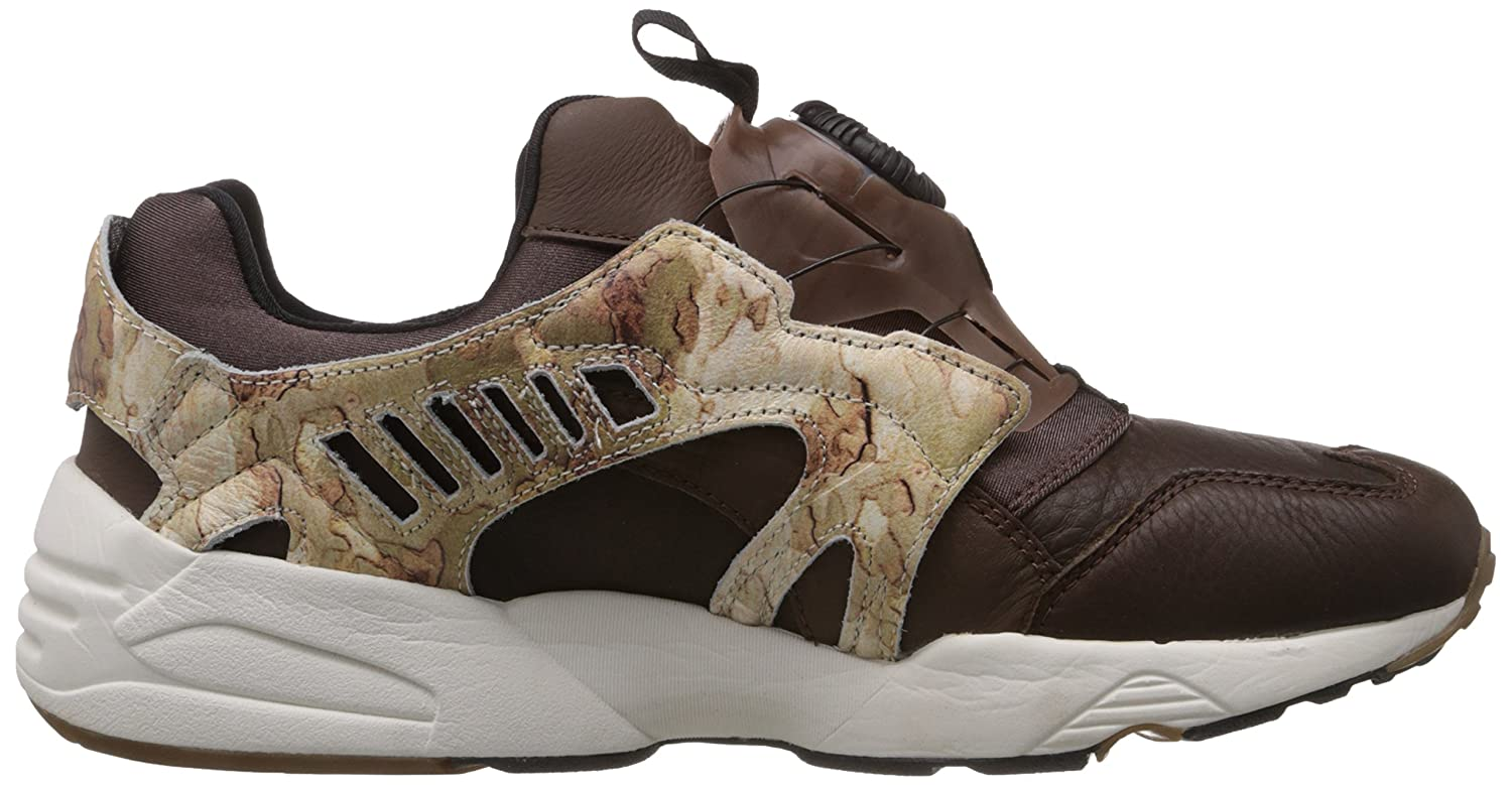 Amazon.com | Puma Trinomic Disc Camo Blaze Sneaker Men Trainers 357366 01  brown leather | Shoes