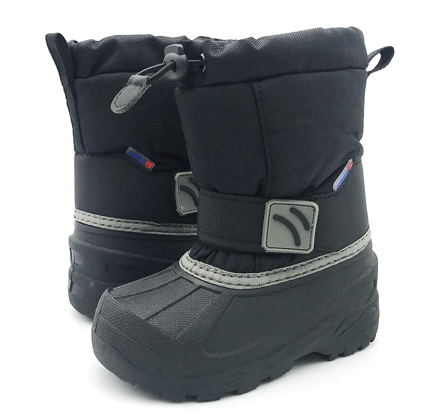 Toddler//Little Kids//Big Kids DEHCHO Girls and Boys Winter Snow Boots Waterproof and Warm All Weather Boots for Children