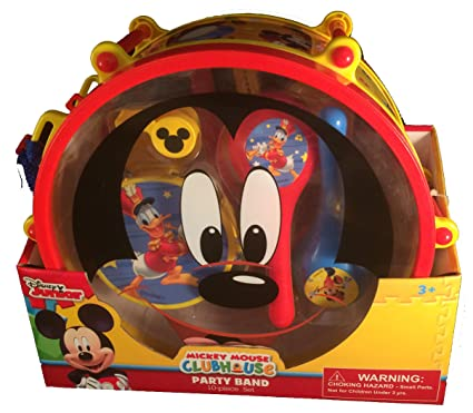 Amazon.com: Disney Mickey Mouse Clubhouse Mickey\'s Party Band 10 ...