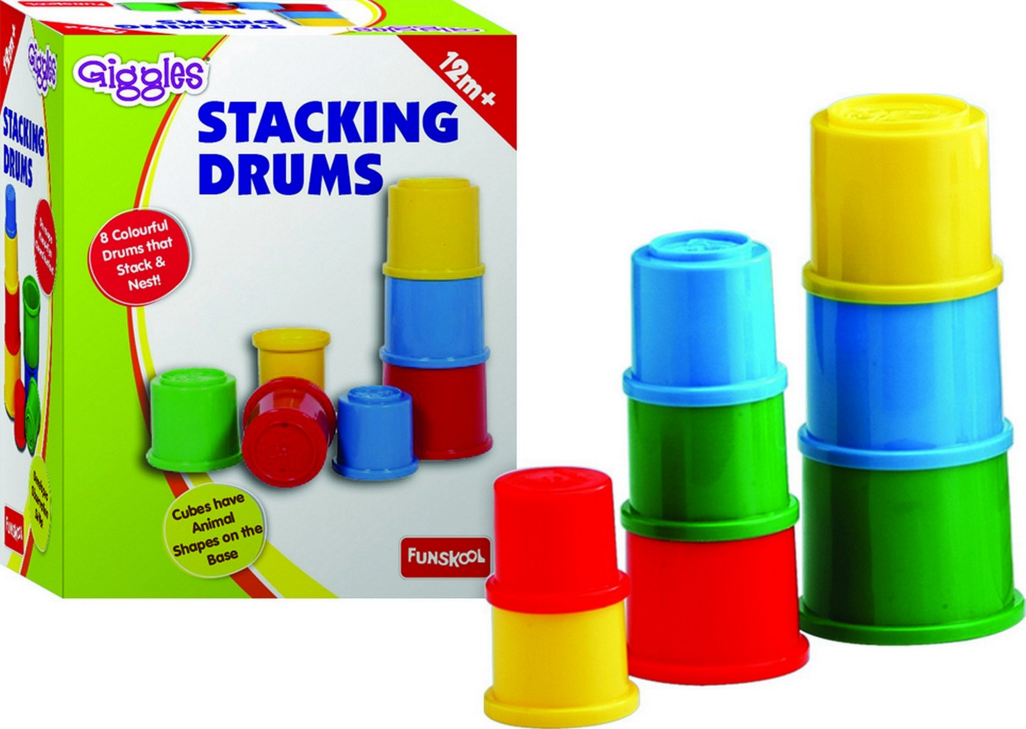 Funskool Giggles Stacking Drums product image