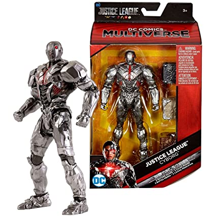 DC Comics Year 2017 Multiverse Justice League Series Exclusive 6 Inch Tall Figure - Masked CYBORG