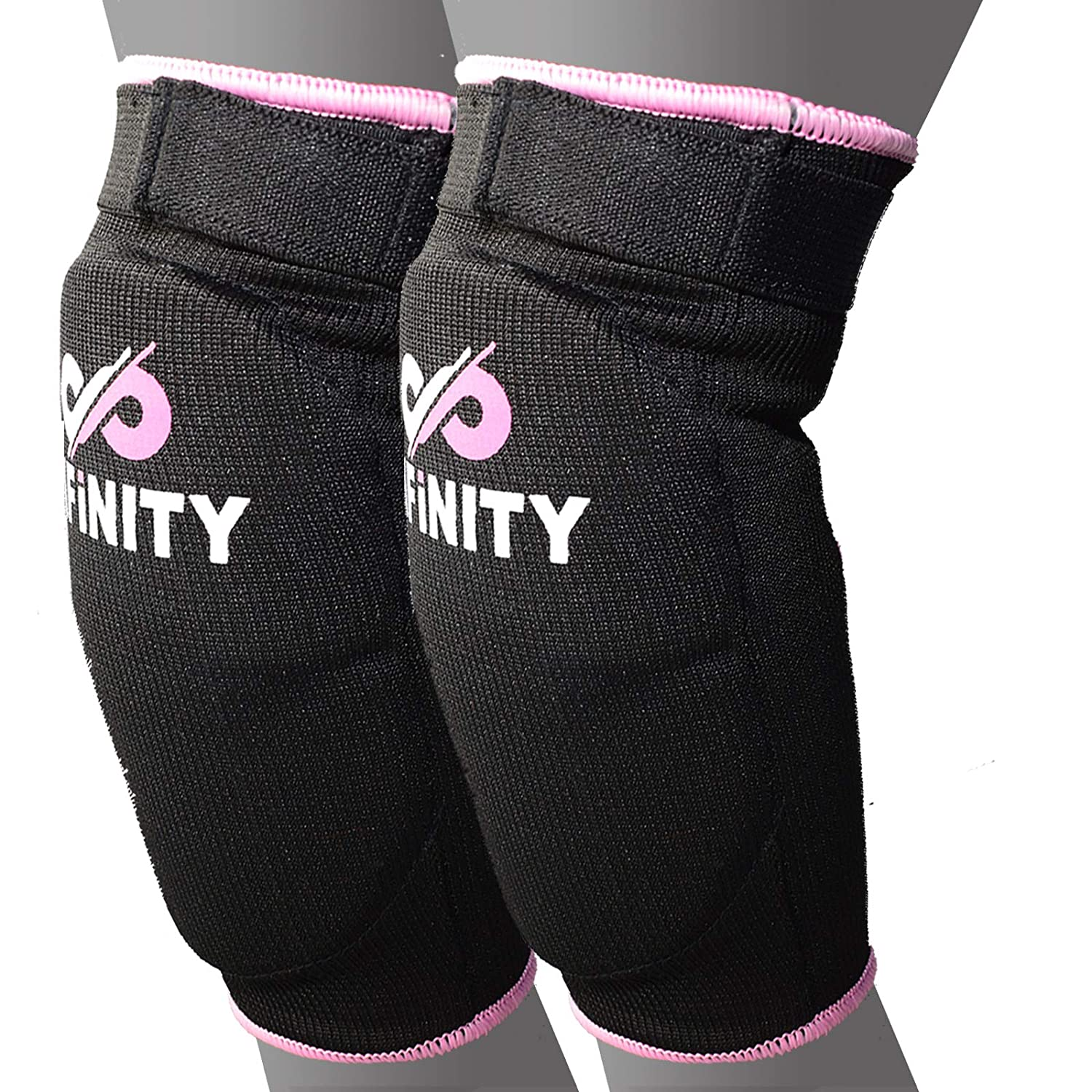 Infinity Sports USA Elbow Pads Protector Brace Support Guards Arm MMA Guard Gym Padded Martial Arts Basketball Weaving Workwear Training Garden Elbowlers