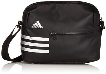 adidas Women s Shoulder Bag Climacool Family Organiser Black Silver ... e4605aa81a