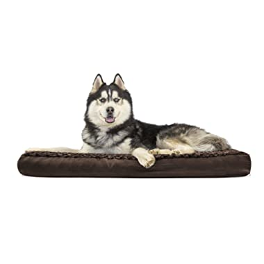 Furhaven Pet Dog Bed   Deluxe Mattress Pet Bed for Dogs & Cats - Available in Multiple Colors & Styles