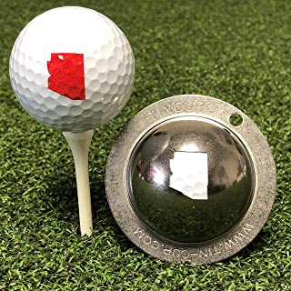 product image for Tin Cup Arizona State Golf Ball Custom Marker Alignment Tool