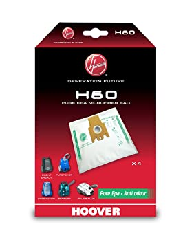 Amazon.com - HOOVER H63 CONFEZIONE 5 SACCHETTI PER FREESPACE ...