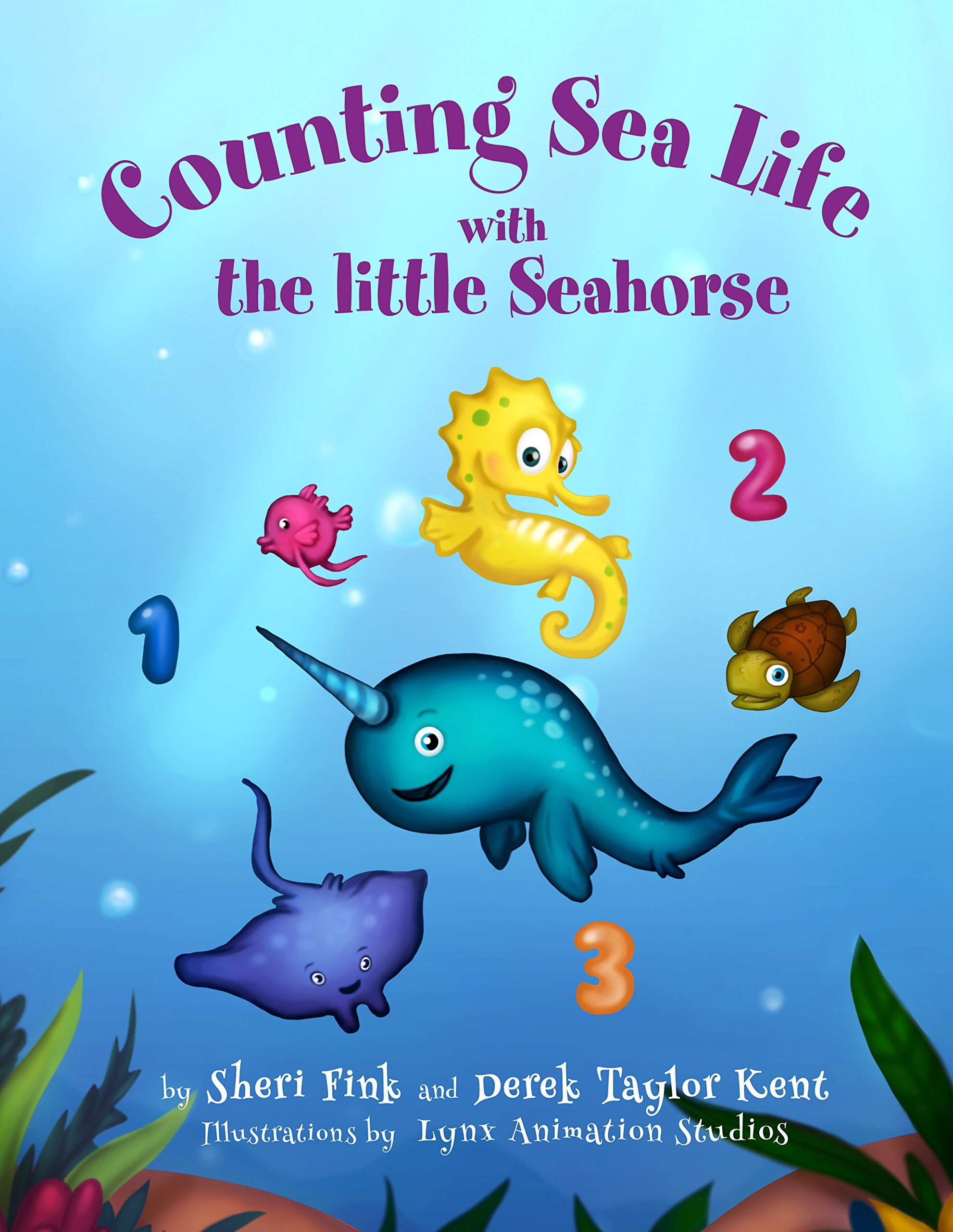 Image for Counting Sea Life with the Little Seahorse (Interactive Counting 1-30 with Surprise Ending)