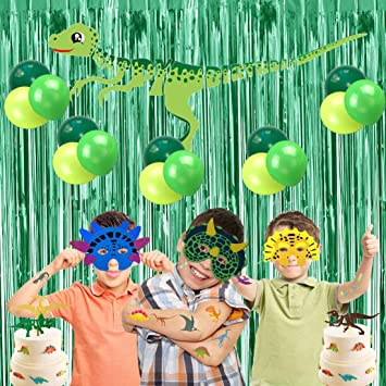 Amazon.com: Dinosaur Decorations for Birthday Party ...