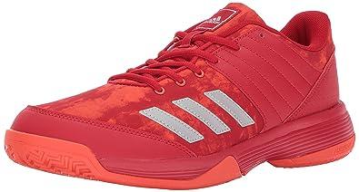 Adidas Men's Ligra 5 Volleyball Shoe Legend Ink Red Orange Two 12 M US