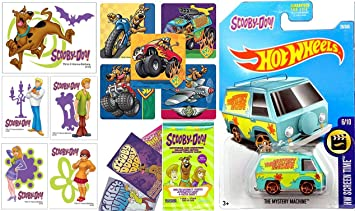 Amazon.com: Scooby-Doo Mystery Machine Van 2017 Hot Wheels Scooby ...