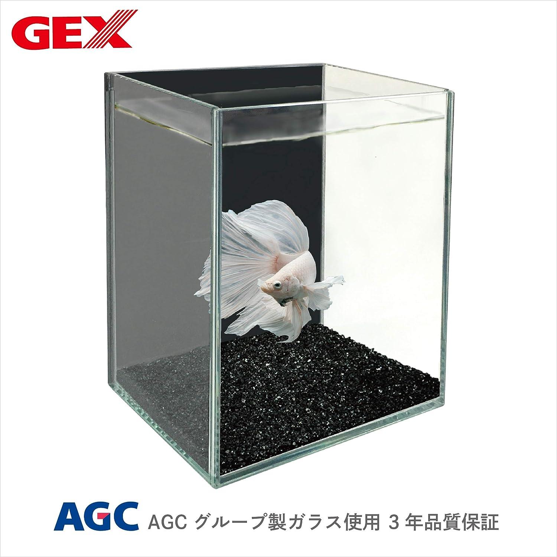 ジェックス グラステリア ベタ ブラック 幅12cm×奥行9cm×高さ15cm