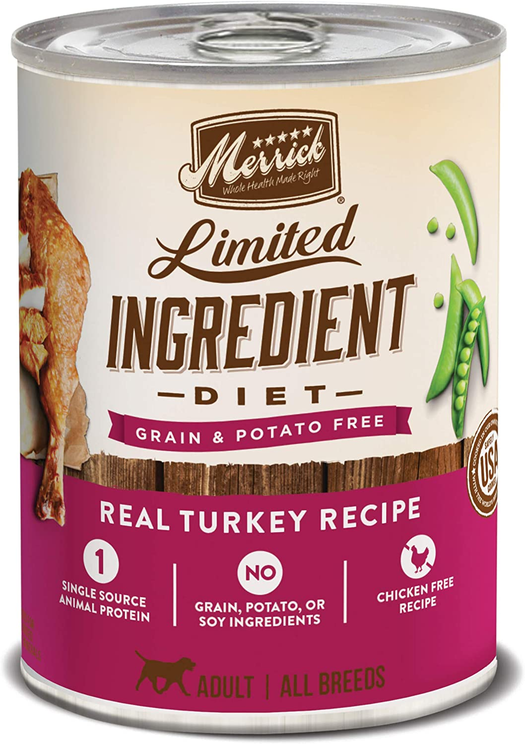 Merrick Limited Ingredient Diet Canned Dog Food