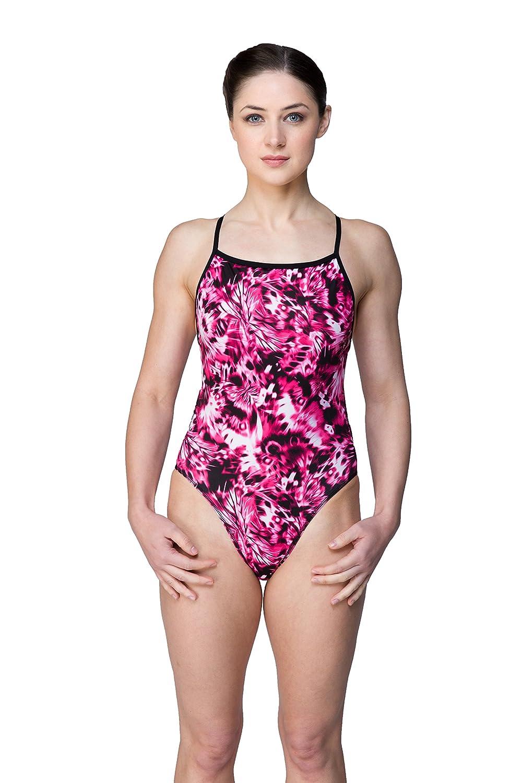 15c90b8ecc Maru Morpho Ladies Pacer Vision Back One Piece Swimsuit: Amazon.co.uk:  Clothing