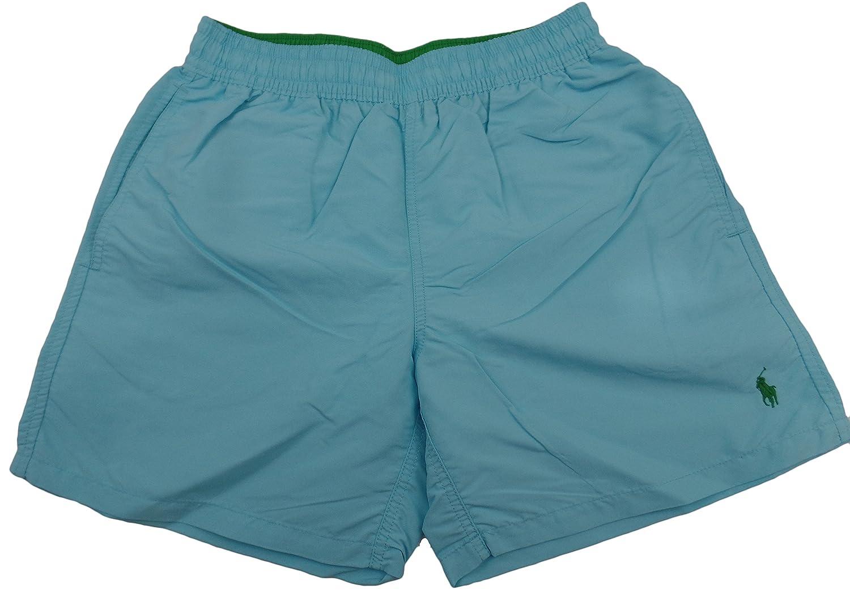 "Ralph Lauren Hawaiian 5"" Swim Boxer - Hammond Blue"