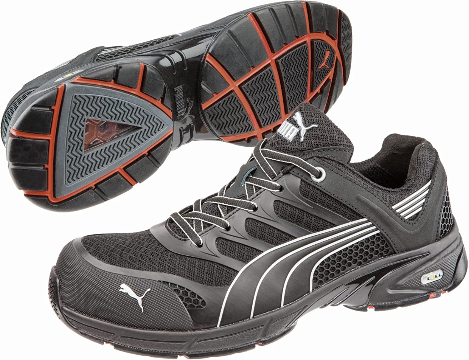 Puma Safety Fuse Motion SD Mens BlackLime C624664MO Shoes