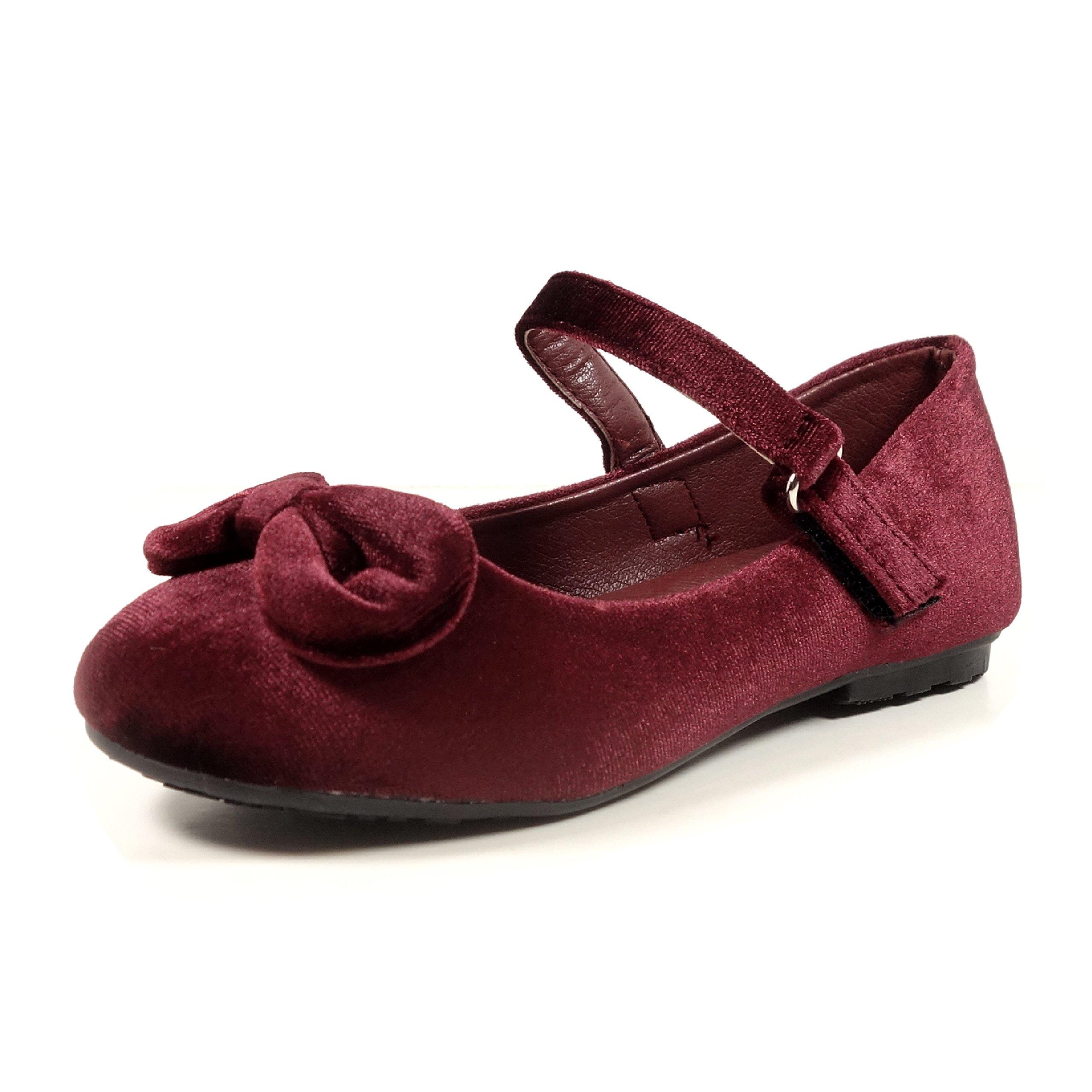558d6ab6f647 Galleon - Nova Utopia Toddler Little Girls Ballet Flat Shoes
