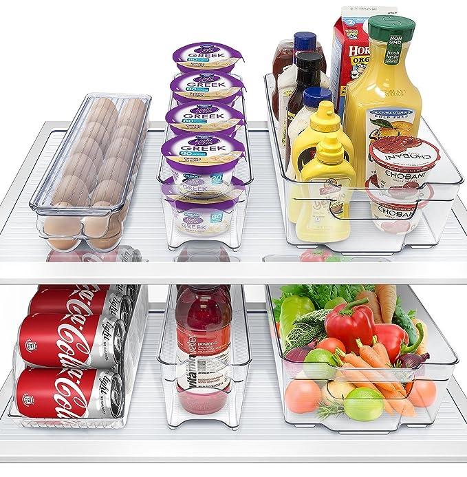 Contenedores de refrigerador y congelador Organizador AYOLA ...