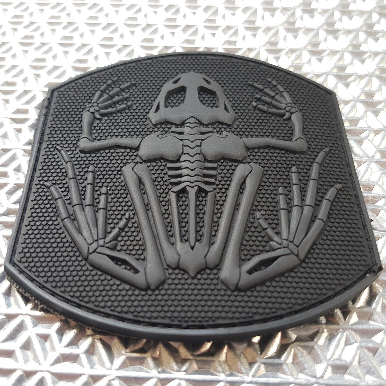 2AFTER1 ACU US Navy Seals Bone Frog Skull DEVGRU Frogman Morale PVC Touch Fastener Patch