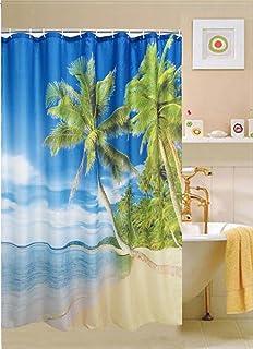 Kashi Home Cebu Printed Shower Curtain