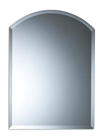 neue design arch bathroom wall mirror modern stylish with bevel rh amazon co uk