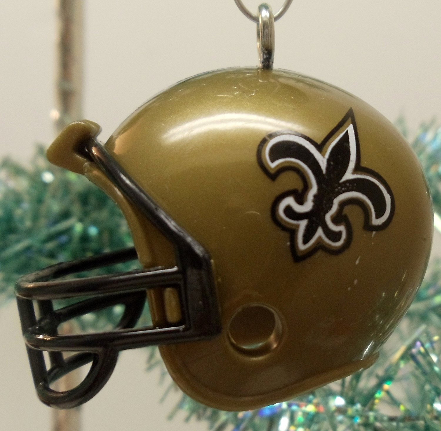 New Orleans Saints Set of 12 Holiday Christmas Tree Ornaments Featuring Saints Team Ornaments Ranging from 1.5 to 2 Tall