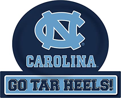 UNC TAR HEELS MAGNET SET-UNC TAR HEELS 6 PACK OF CAR MAGNETS-AWESOME TAILGATE PACK