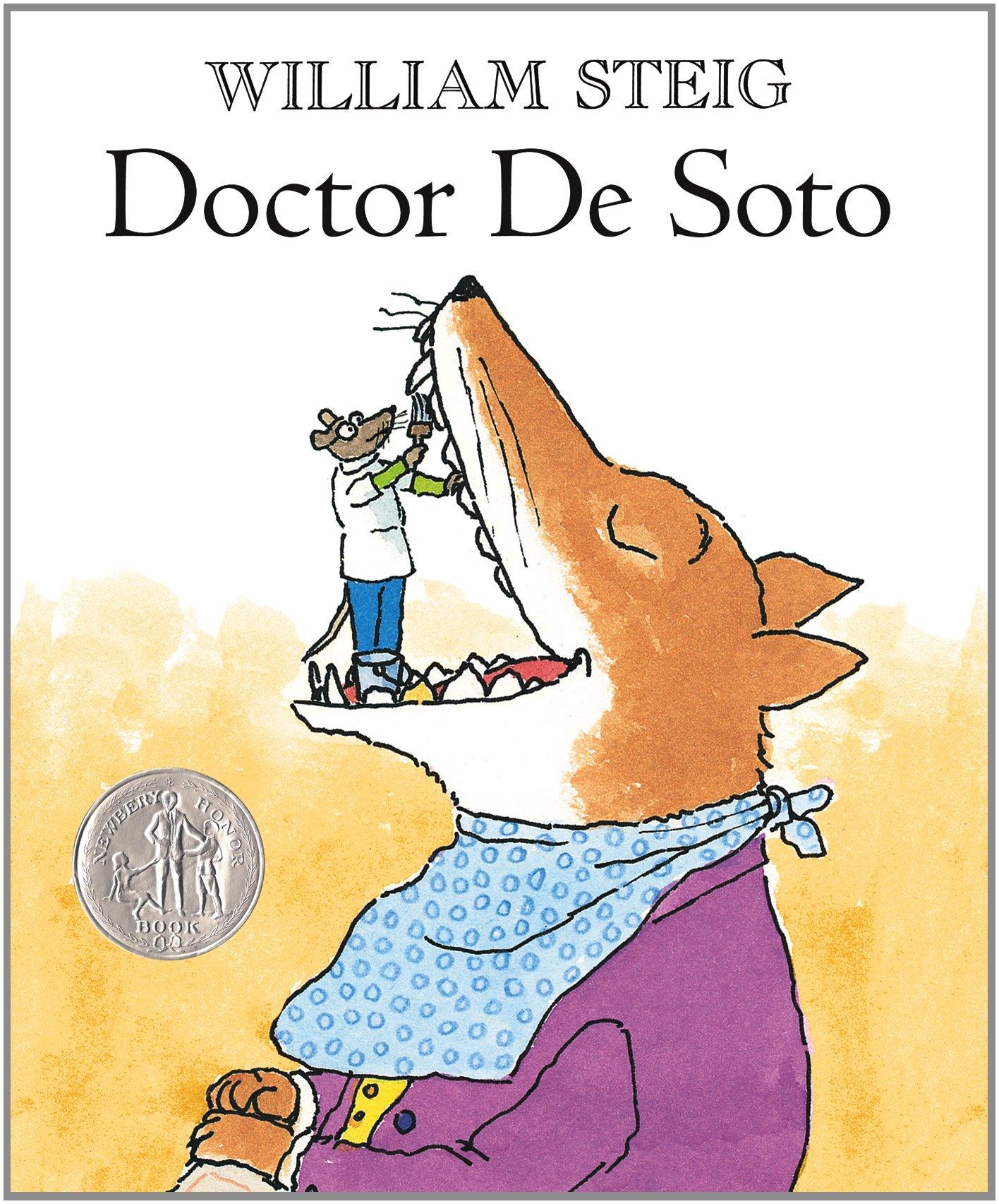 Doctor De Soto: Steig, William, Steig, William: 8601423175041: Amazon.com:  Books