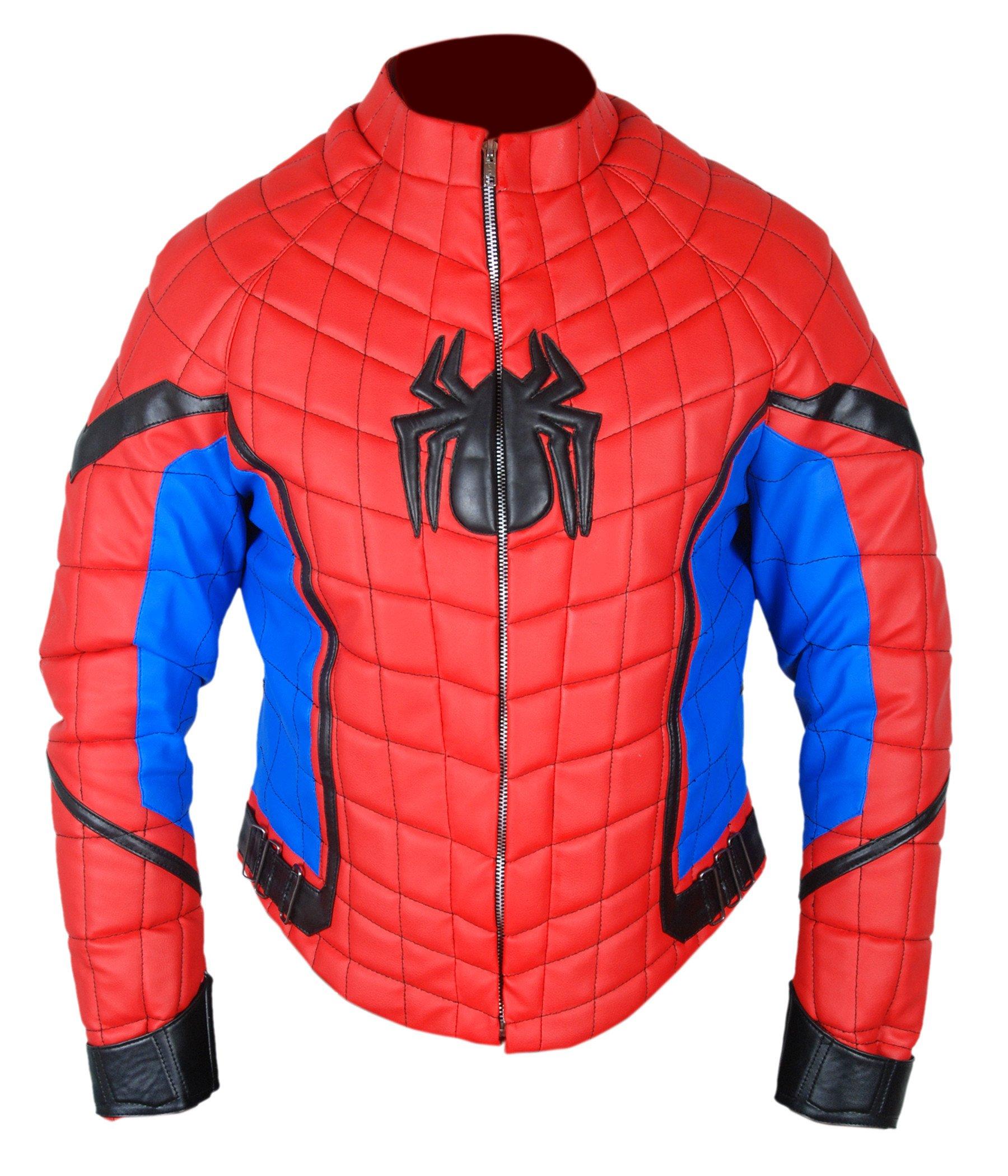 Flesh & Hide F&H Boy's Spiderman Homecoming Tom Holland Jacket S Multi by Flesh & Hide