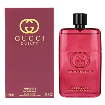 1a66f573a Amazon.com : Gucci Guilty Absolute Pour Femme Eau De Parfum Spray For Women  3.0 Oz/90 ml Brand New Item : Beauty