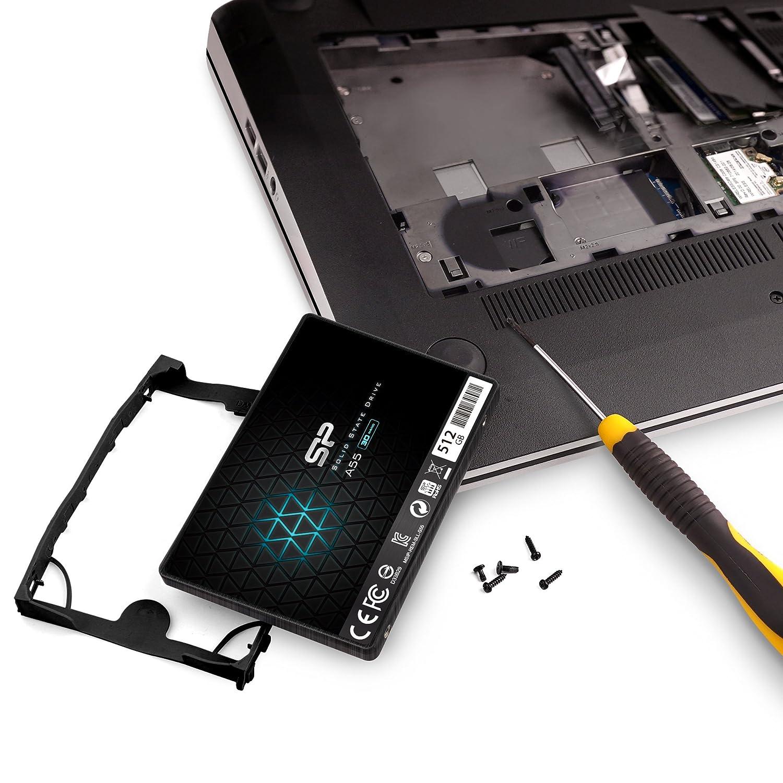 シリコンパワー SSD 512GB 3D NAND採用