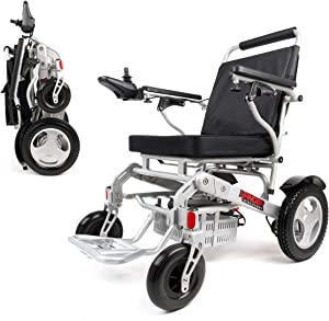 Porto Mobility Ranger D09S, No.1 Best Rated Weatherproof Exclusive Lightweight Folding Electric Wheelchair