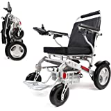 Porto Mobility Ranger D09S Foldable Lightweight All Terrain Premium Electric Wheelchair, Portable, Compact, Two Powerful…