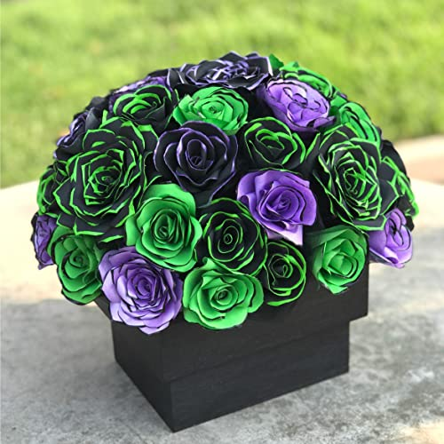 Purple And Green Wedding.Amazon Com Centerpiece In Black Lime Green And Purple Handcrafted