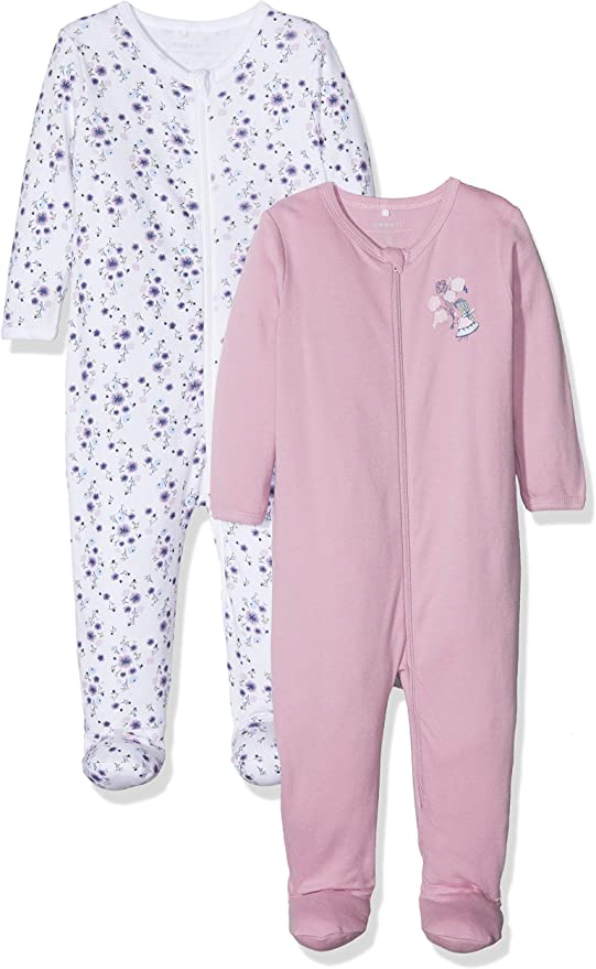 Name It Pyjama Lot de 2 Mixte b/éb/é