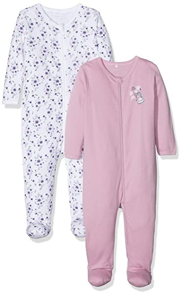 NAME IT Pijama para Beb/és Pack de 2