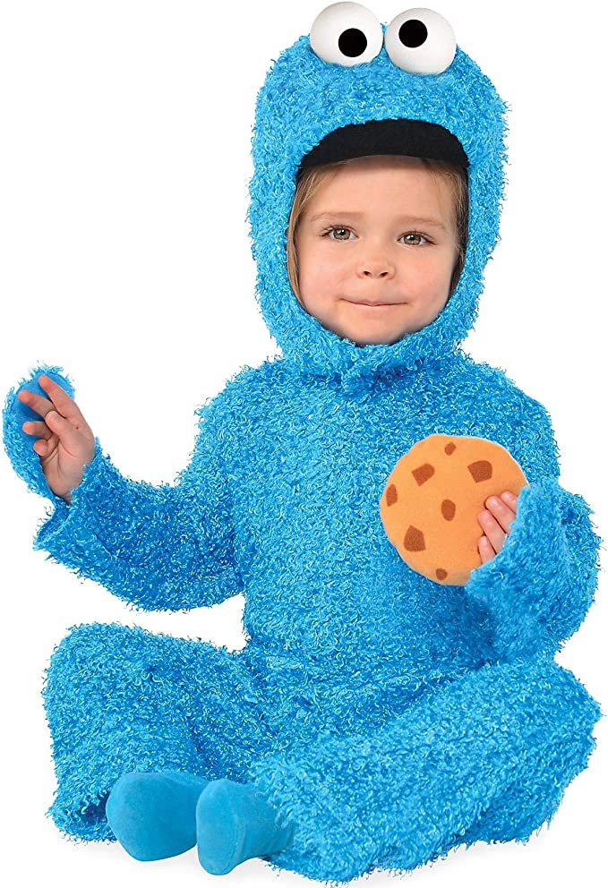 Suit Yourself Cookie Monster Halloween Costume For Babies Sesame Street With Accessories