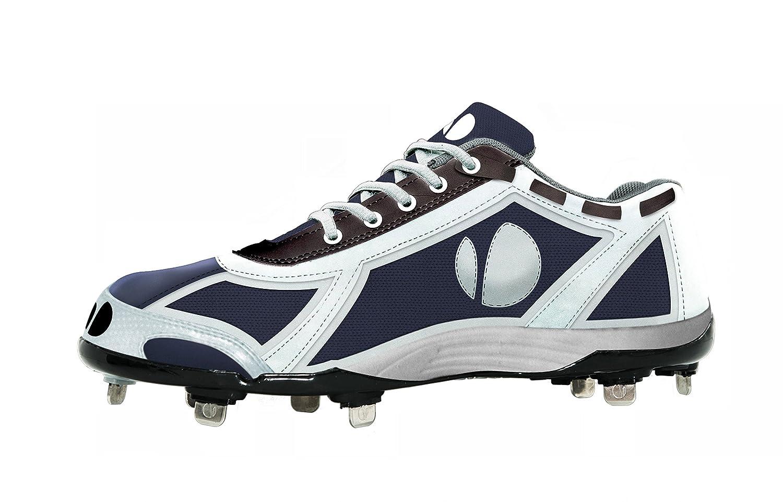 Verdero Force Loメタル野球シューズクリート B00NUC0LHC Size 13|ブルー/ホワイト ブルー/ホワイト Size 13