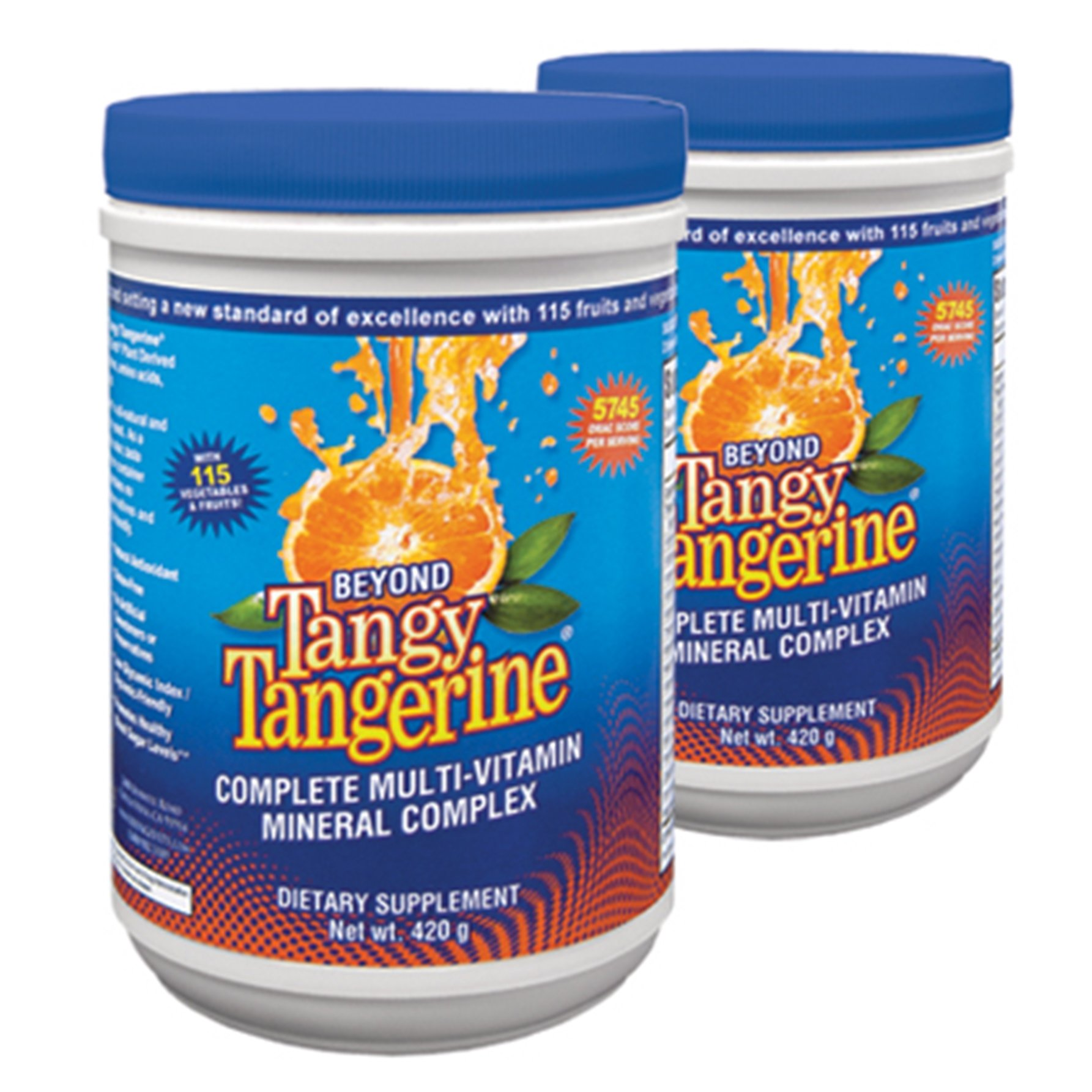Tangy Tangerine - 420 G Canister 2 Pack by Youngevity