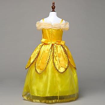 Amazon.com: lava-ring Belleza y la Bestia Belle Princesa ...