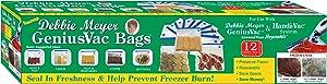 Debbie Meyer GeniusVac Bags, 12 Count Gallon