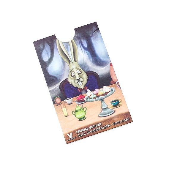 Herb Grinder Card, White Rabbit Design by V Syndicate