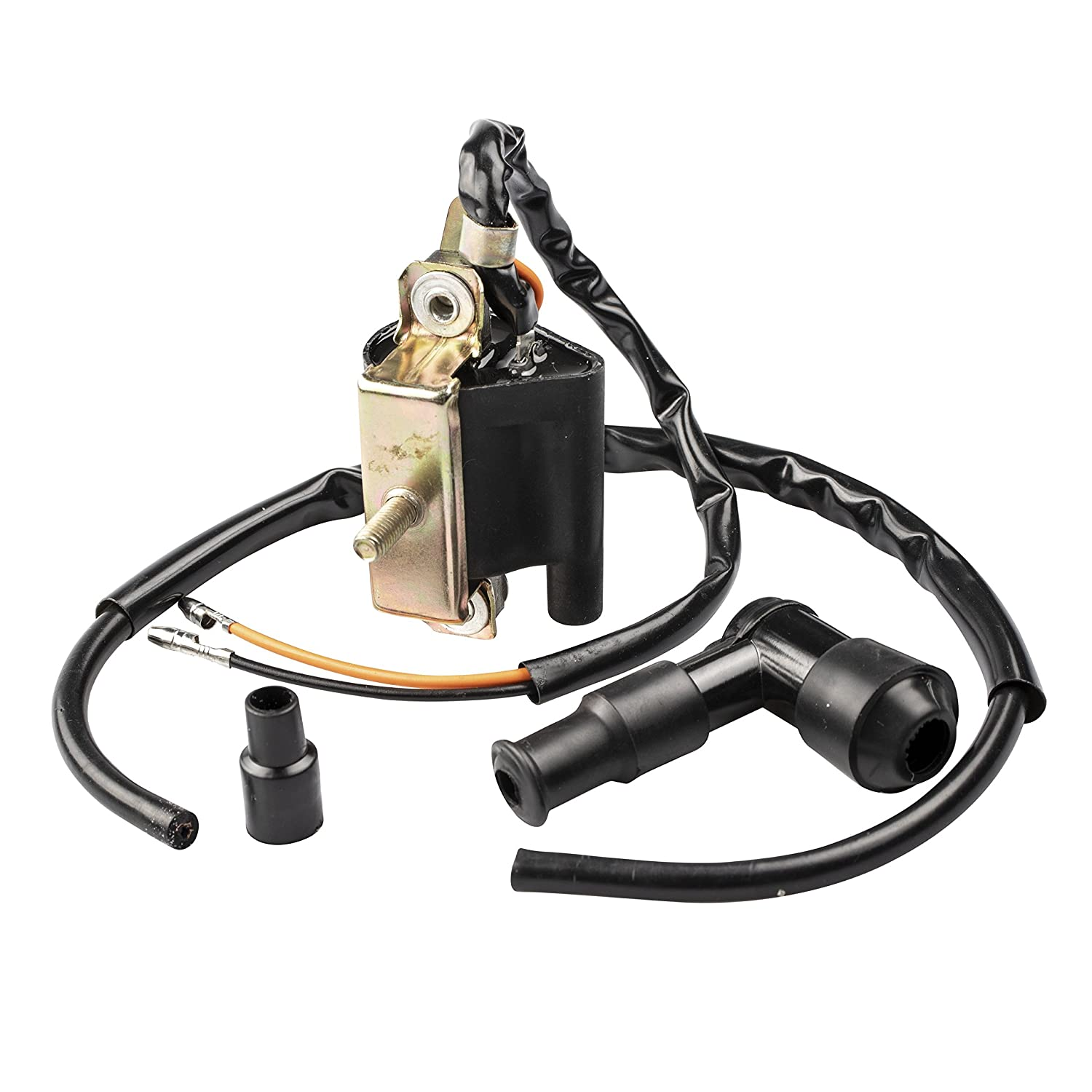 2wc Ignition Coil 6v For Honda Z50 Ct70 C70 Cl70 Xl70 Wiring Sl70 Moped Scooter 18 Length Automotive
