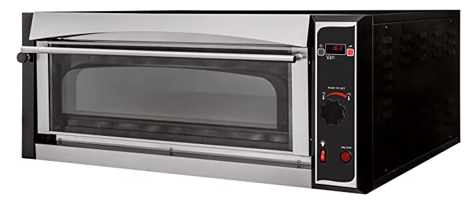 Pizza Horno Master 9 Digital Top - Back Cámara vollschamottiert ...