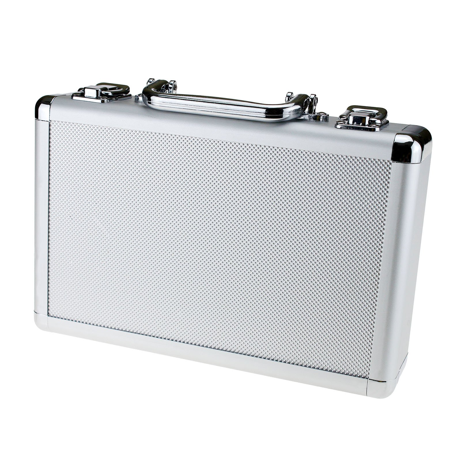 Creative Idear Aluminum Tool Holder Box Case Flight Briefcase With Foam Backing