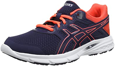 74dede7565e ASICS Women's Gel-Excite 5 Running Shoes, Blue (Peacoat/Flash Coral 400