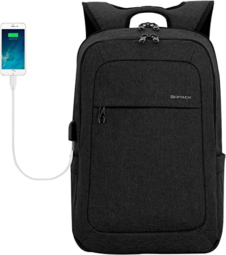 17 inch Laptop Backpack Anti Theft Waterproof Outdoor Shoulder Bag Hard Case