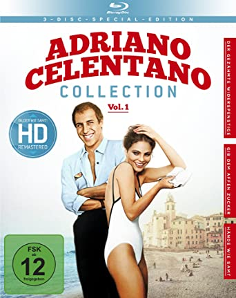 Adriano Celentano Collection Vol 1 3 Blu Ray Edizione Germania