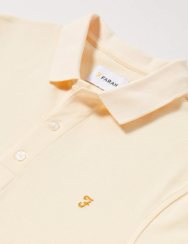 Farah Blanes Camisa de Polo para Hombre
