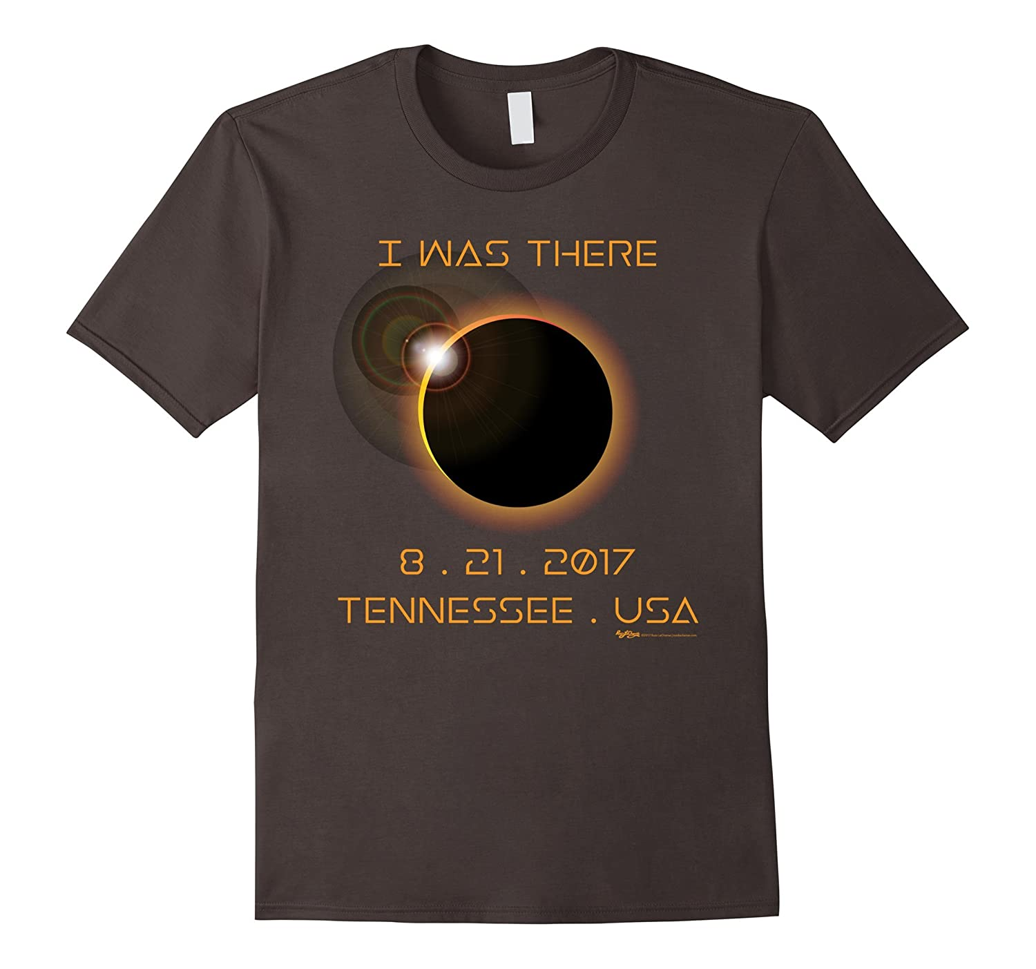 I Was There 8-21-17 Tennessee, USA Total Solar Eclipse Tee-Teehay